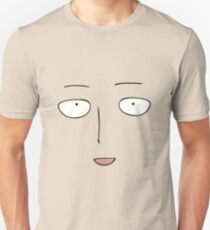 One Punch Man Anime Face Unisex T-Shirt