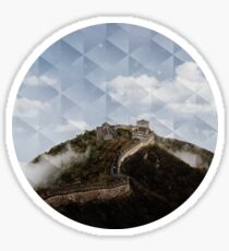Great Wall of China Sticker
