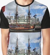 Boat At Circular Quay Graphic T-Shirt