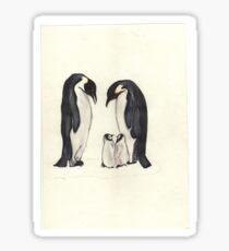 family penguin Sticker