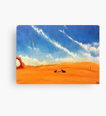 Dune Sea Take-off Canvas Print