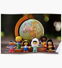 small world puppets Poster