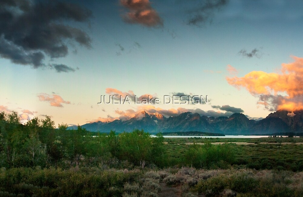 Landscape Grand Teton National Park  by JULIA Lake DESIGN