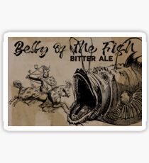 Belly of the Fish ~ Bitter Ale Sticker