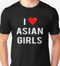 I Love Asian Girls - T-Shirt Unisex T-Shirt