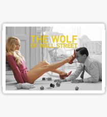 The wolf of wall street - short skirts 5 Sticker