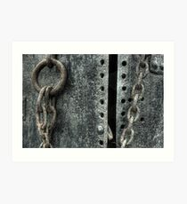 Chained Open Art Print