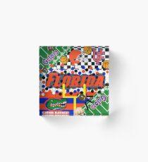FLORIDA COLLAGE Acrylic Block