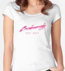 Wifey's Bridesmaidy Women's Fitted Scoop T-Shirt