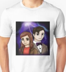 11th Doctor and Amy Pond Unisex T-Shirt