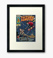 Future Surfer Framed Print