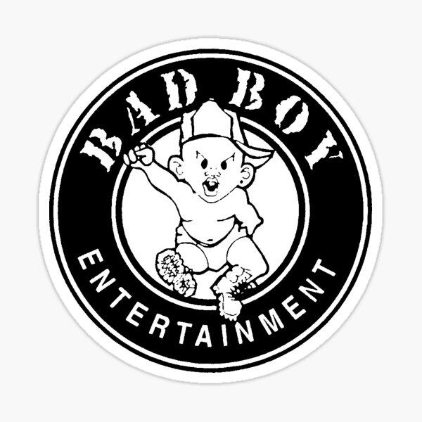 Bad Boy Logo Sticker