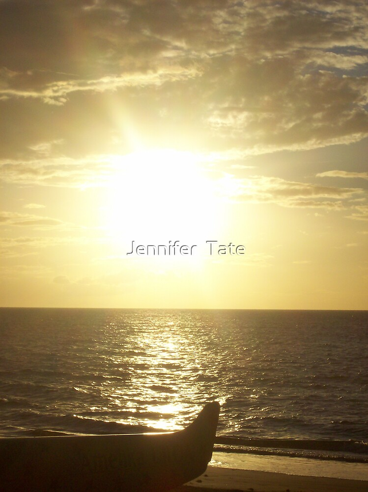 Sunset Series #2 by Jennifer  Tate