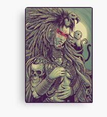 Vulture Queen Canvas Print