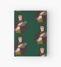 We Call Her The Log Lady Hardcover Journal