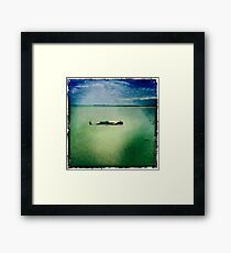 Summer Soak Framed Print