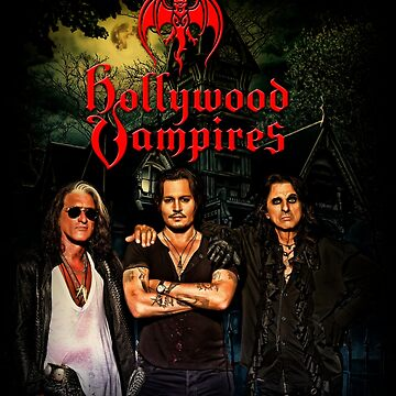 Hollywood Vampires - Cooper, Depp, Perry. by theheadshed