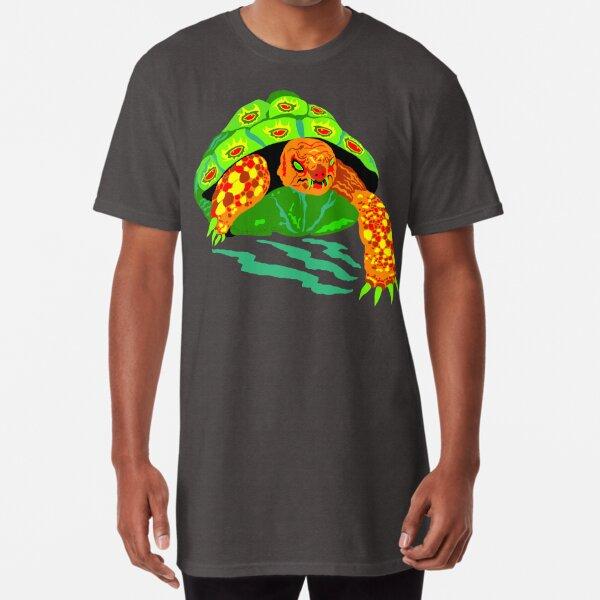 The Creeping Menace Terrifying Turtle Long T-Shirt