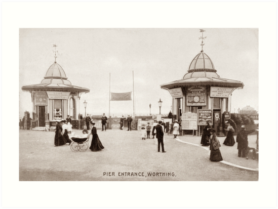 Ref: 65 - Worthing Pier, Worthing, West Sussex. by CentenaryImages