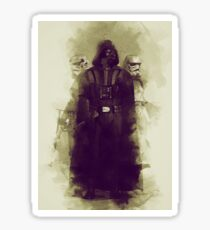 Star wars - darth vader & stormtrooper Sticker