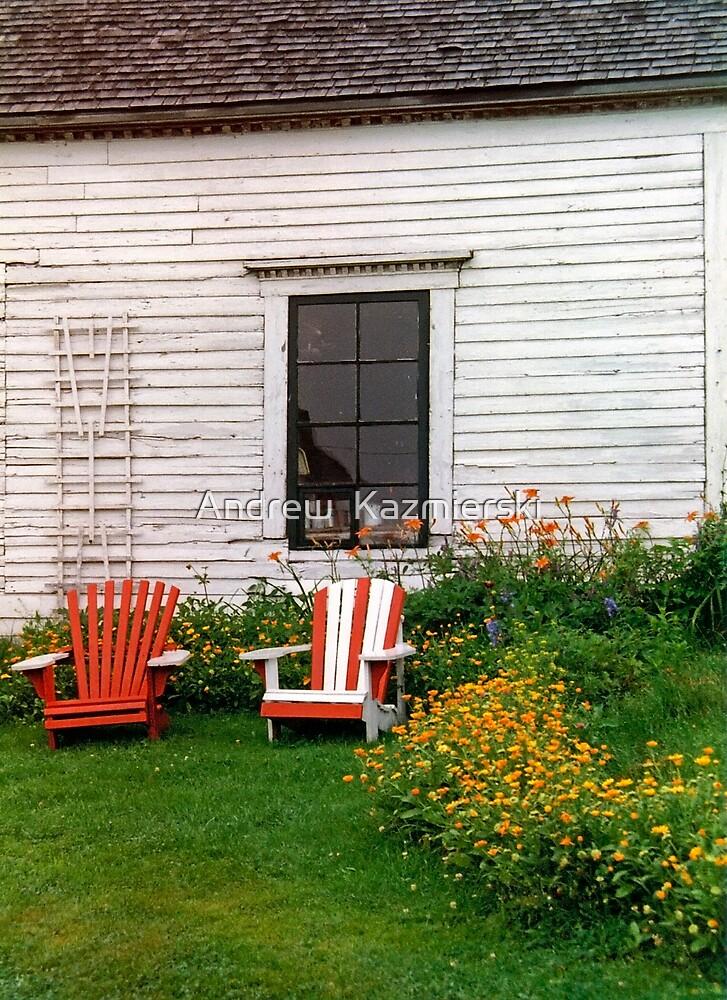 Chairs New Brunswick Canada by andykazie