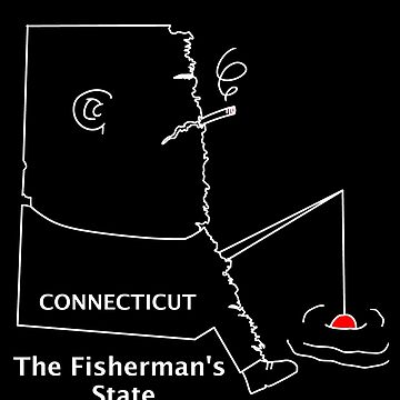 A funny map of Connecticut  by funnymaps
