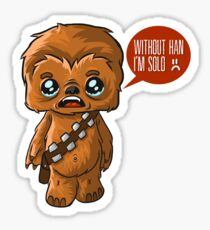 Chewbacca Without Han Sticker