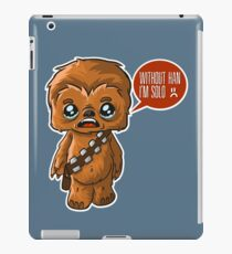 Chewbacca Without Han iPad Case/Skin