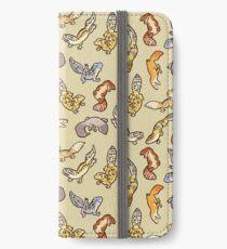 Döbel Gecko Babys iPhone Flip-Case/Hülle/Klebefolie