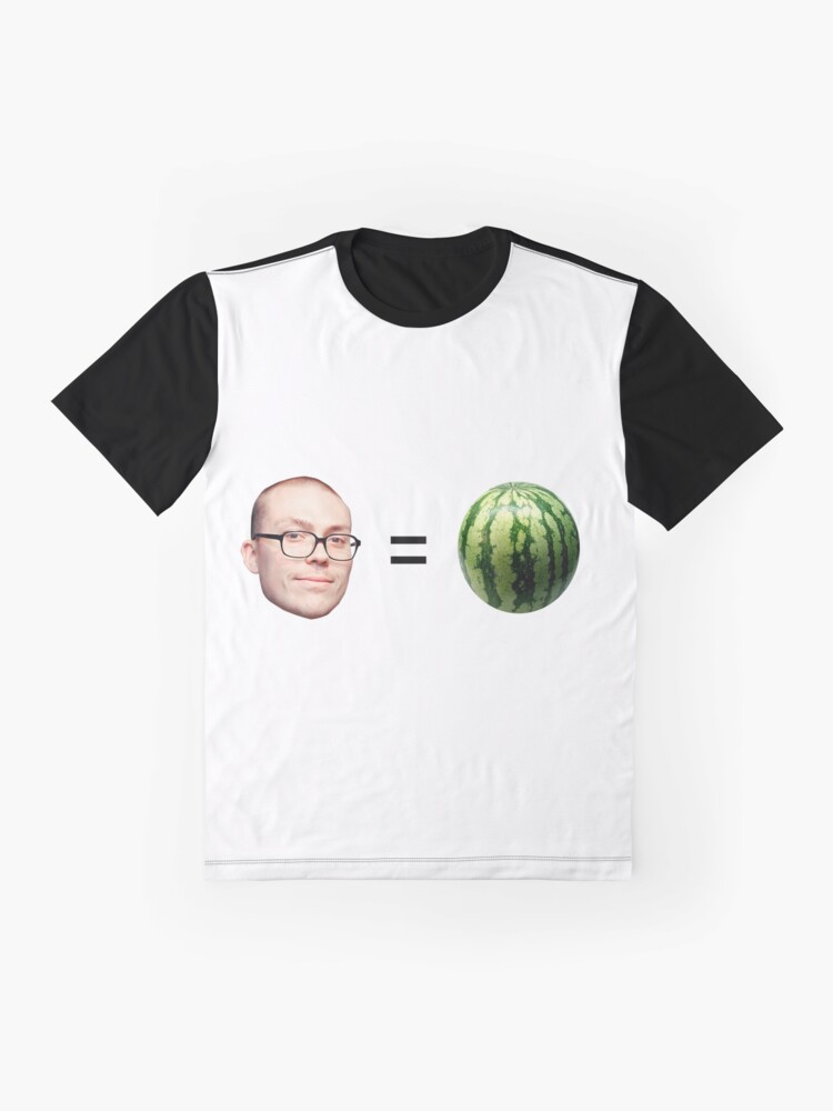 Alternate view of Anthony Fantano is a Melon Graphic T-Shirt