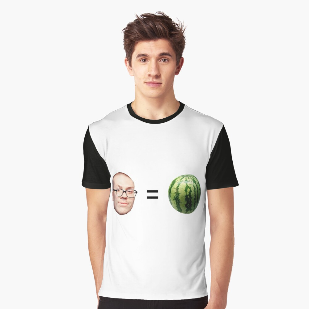 Anthony Fantano is a Melon Graphic T-Shirt