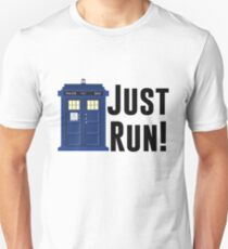 Doctor Who - Just Run! Unisex T-Shirt