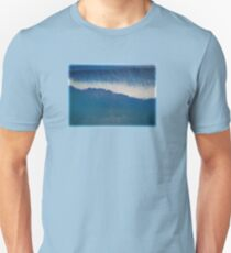 Blue Wave Barrel Painting Unisex T-Shirt