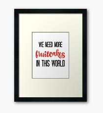 JIMMY BUFFETT -FRUITCAKES Framed Print