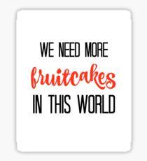 JIMMY BUFFETT -FRUITCAKES Sticker