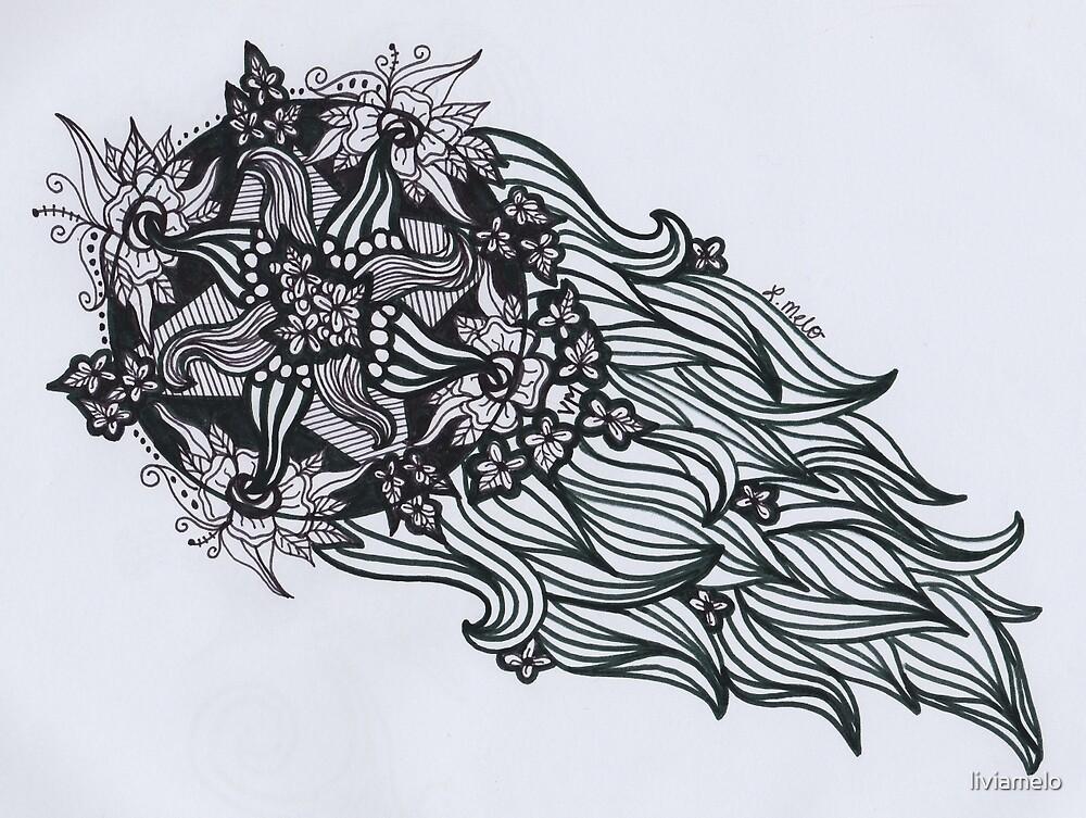 Flower Meteor by liviamelo
