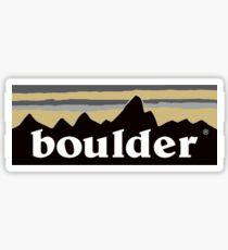 BOULDER DESIGN Sticker