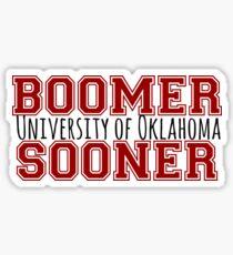 Boomer Sooner - OU Sticker