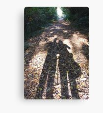 Shadow Walks Canvas Print