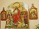 Religious Art in Kalocsa by Graeme  Hyde