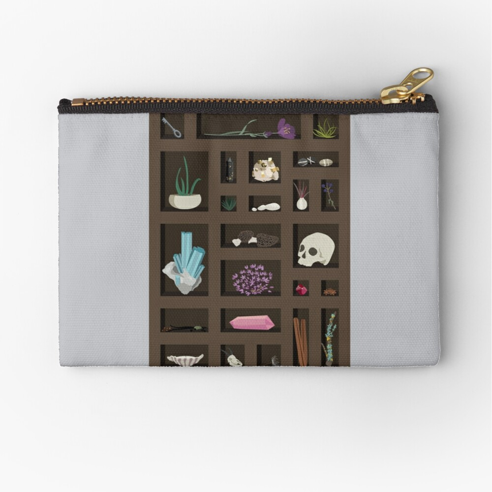 Cabinet of Curiosities Zipper Pouch