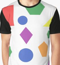 Light Shapes Graphic T-Shirt