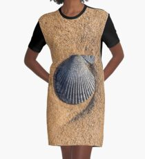 Shell Graphic T-Shirt Dress