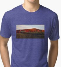 Early Morning at the Hills Tri-blend T-Shirt