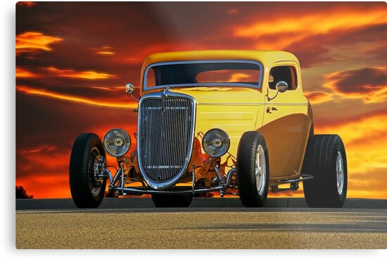 1933 Ford 'Three Window' Coupe  by DaveKoontz