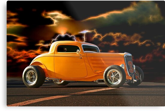 1933 Ford HiBoy Coupe II by DaveKoontz