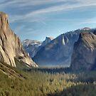 Yosemite Falls by Walter Colvin