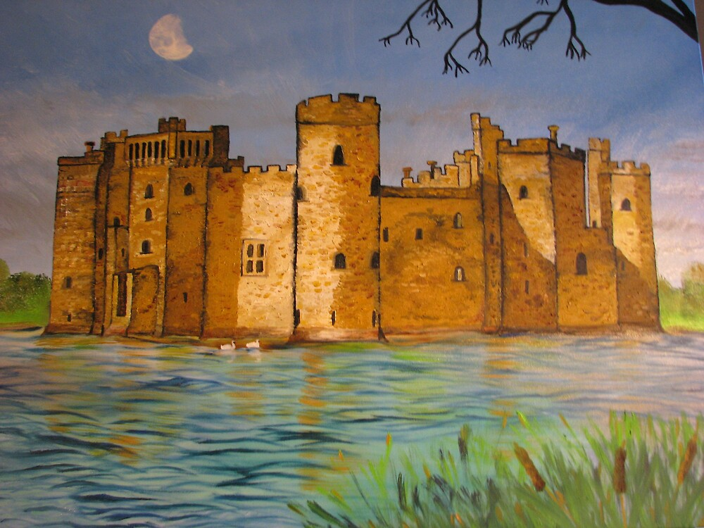 Bodium Castle by Suzanne Buckland