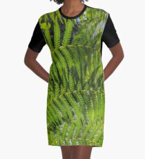 Fern Graphic T-Shirt Dress