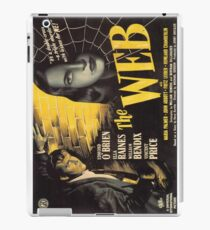 The Web - vintage horror movie poster iPad Case/Skin